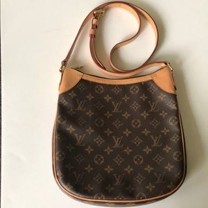 Authentic Louis Vuitton Monogram Odeon PM